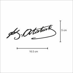 Kemal Atatürk İmzası Sticker