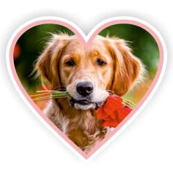 Kalp Sticker - Kendin Tasarla