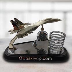 Ahşap Altlıklı Metal Uçak