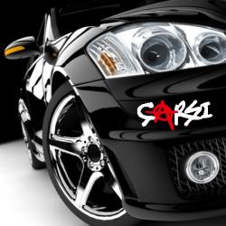 Çarşı Araba Sticker