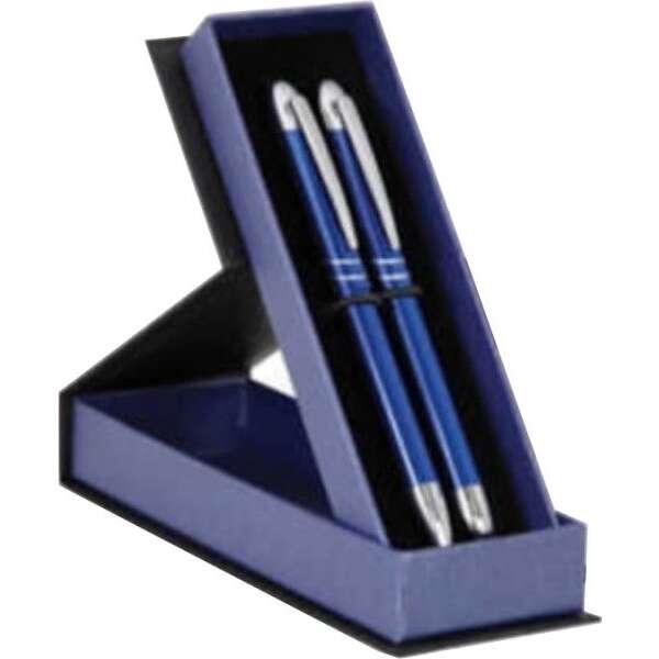 Mikro 1207 Mavi Kalem Seti | Kişiye Özel
