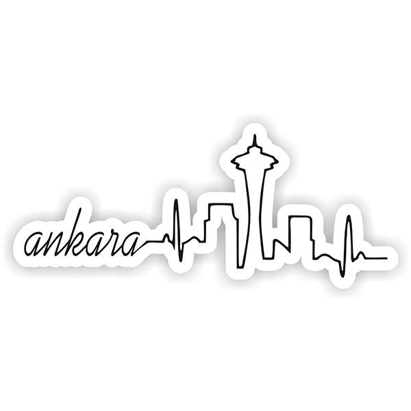 Ankara Silüet Sticker