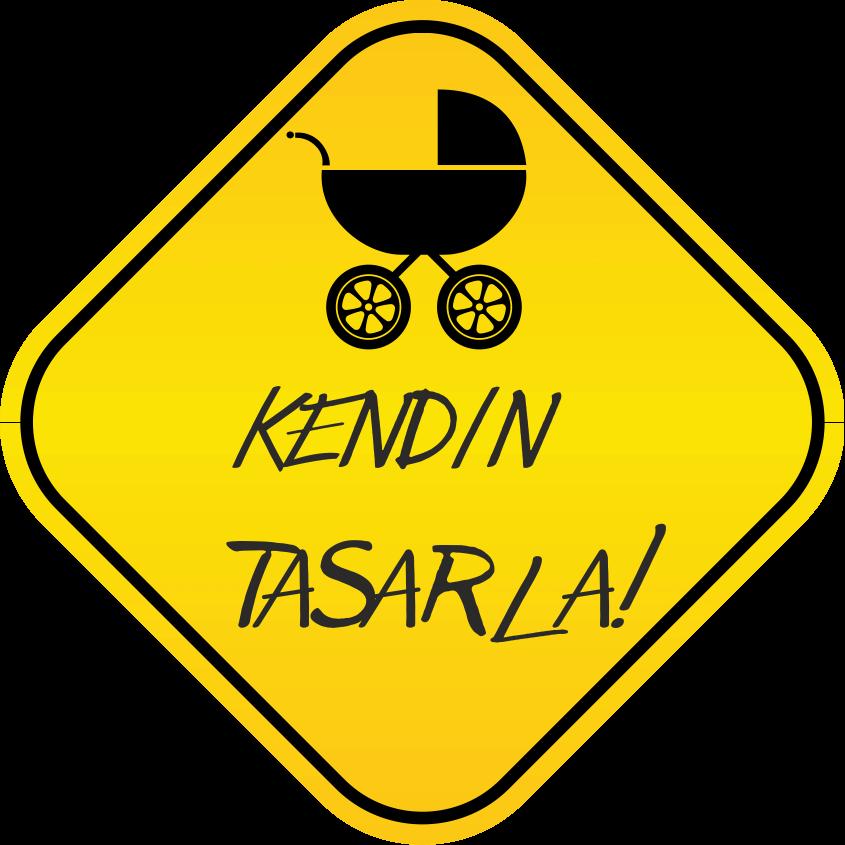 Kendin Tasarla Araba Sticker