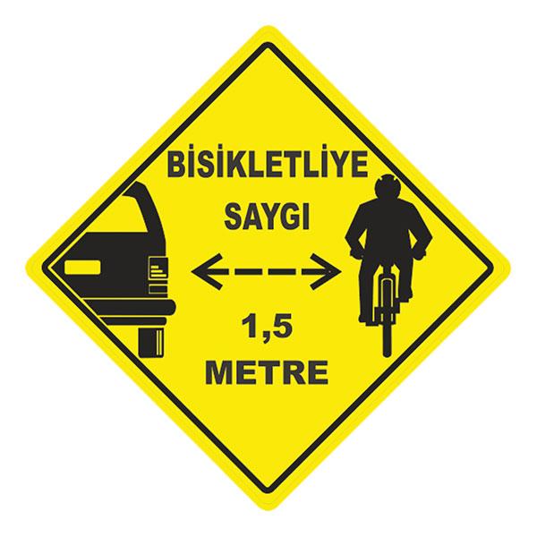 Bisikletliye Saygı