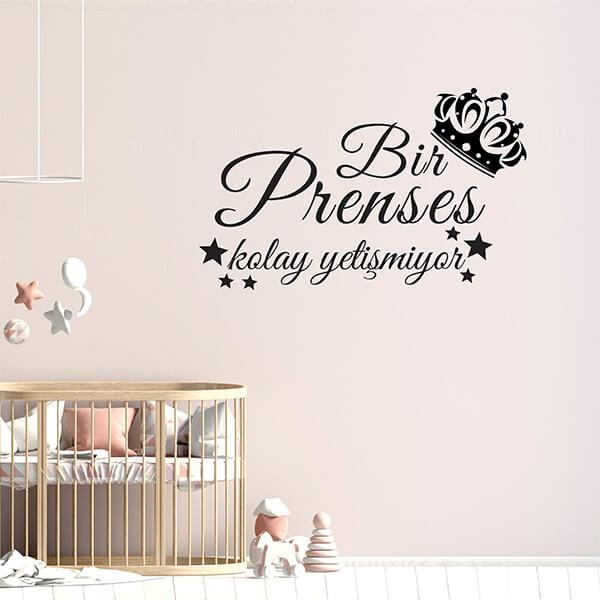 Prenses Duvar Sticker