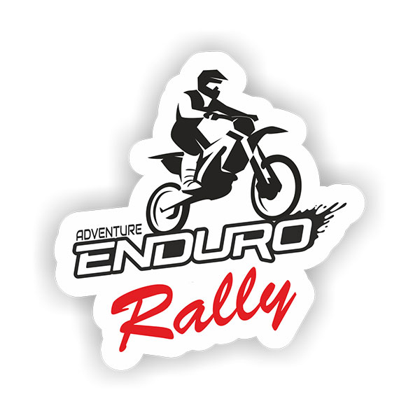 Enduro Sticker