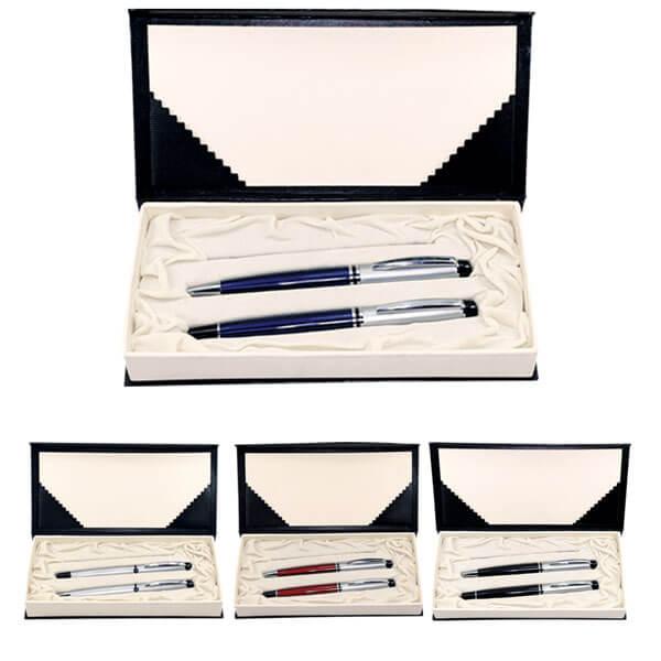 Mikro Baskılı Metal Kalem Seti