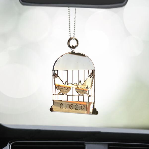 Kuş Kafesi Dikiz Aynası Süsü
