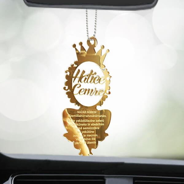 Nazar Dualı Dikiz Aynası Süsü