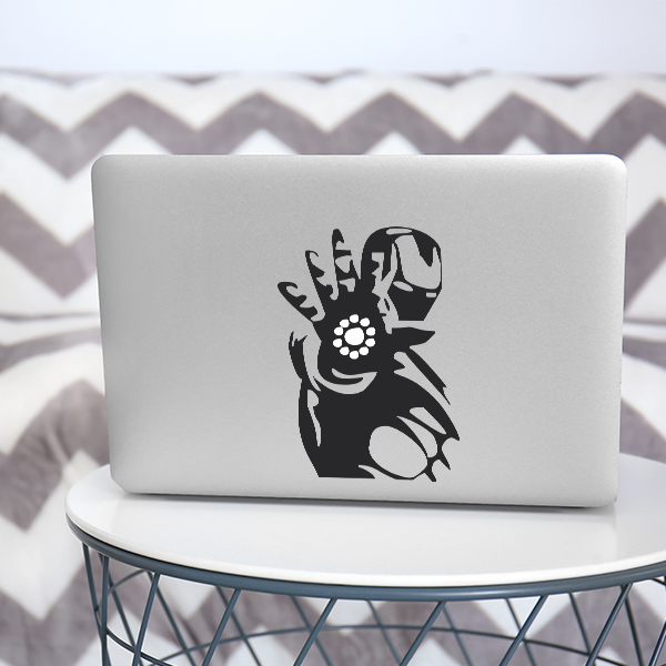 Macbook Ironman Sticker