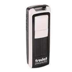 Trodat Pocket Printy Cep Kaşe 9511 | Siyah-Beyaz