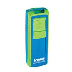Trodat Pocket Printy Cep Kaşe 9511   Yeşil-Mavi
