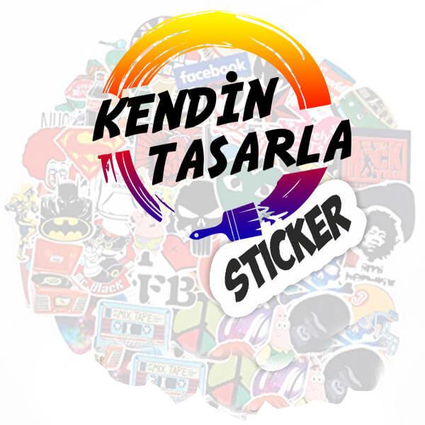 Kendin Tasarla Sticker