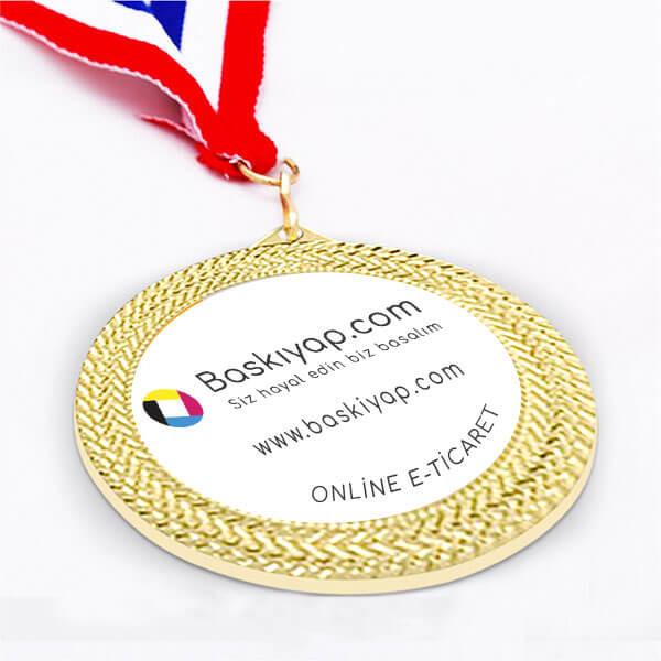 Kişiye Özel Metal Madalya (Altın)