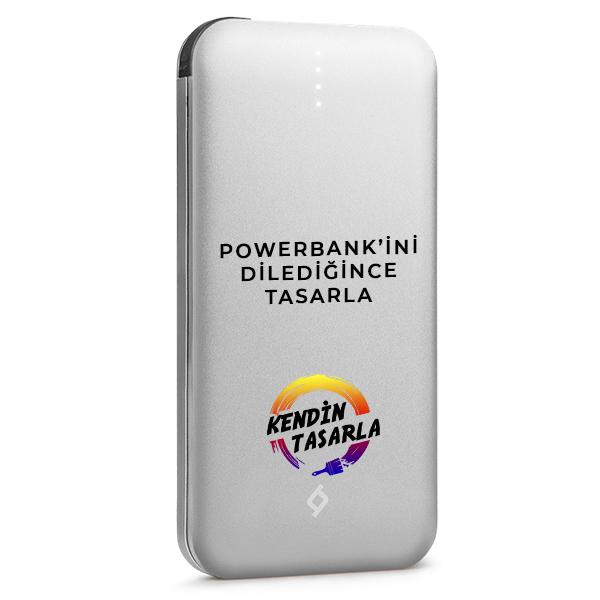 Kişiye Özel Powerbank | Ttec AlumiSlim