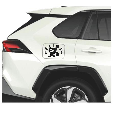 Yakıt Deposu Sticker